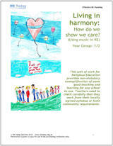 More information on Living in Harmony: How do we show we care? (Using music in RE)